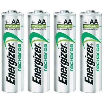 (4x Аккумуляторы ENERGIZER AA R6 Power Plus 2000mAh) доставка товаров из Польши и Allegro на русском