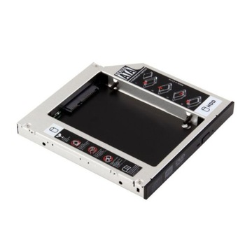 КАРМАН SATA - SATA 9,5 ММ SSD HDD + ЗАГЛУШКА доставка товаров из Польши и Allegro на русском