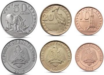 ЮЖНЫЙ СУДАН 3 монеты доставка товаров из Польши и Allegro на русском