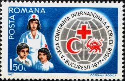 Румыния. Мне 3435 ** - Конференция Красного Креста доставка товаров из Польши и Allegro на русском