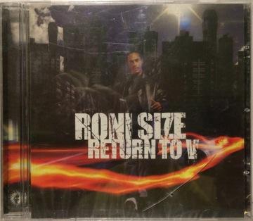 RONI SIZE - RETURN TO V CD ПЛЕНКА!!! доставка товаров из Польши и Allegro на русском