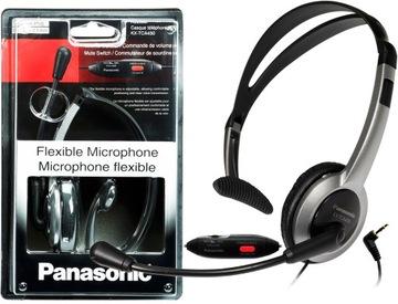 (PANASONIC KX-TCA430 гарнитура головная Call Center) доставка товаров из Польши и Allegro на русском