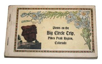 BIG CIRCLE TRIP PIKESPEAK РЕГИОН КОЛОРАДО 1921 доставка товаров из Польши и Allegro на русском