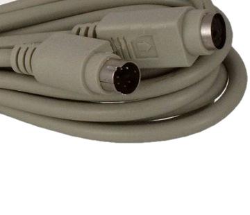 Удлинитель PS2 6p клавиатура, мышь, кабель 5м(2638 доставка товаров из Польши и Allegro на русском