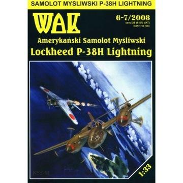 ОАК 6-7/08 Самолет Lockheed P-38H Lightning 1:33 доставка товаров из Польши и Allegro на русском