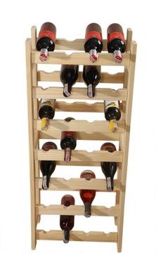Книжный шкаф, стенд для вина 28 бутылок (4x7), производитель доставка товаров из Польши и Allegro на русском