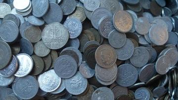 Набор 1 кг монет ПНР Килограмм доставка товаров из Польши и Allegro на русском