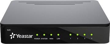 Телефонная станция Yeastar S20 IP-АТС VoIP TLS доставка товаров из Польши и Allegro на русском