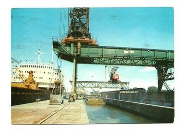 Pocztówka - Świnoujście - w porcie / statek доставка товаров из Польши и Allegro на русском