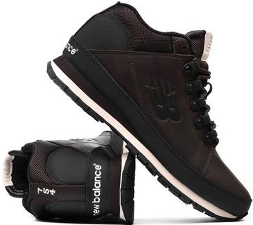 Зимние Мужские ботинки New Balance H754LLB р. 44 Коричневый доставка товаров из Польши и Allegro на русском