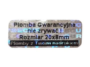 ПЛОМБЫ ГАРАНТИЙНЫЕ STICKERY 20x8 ГОЛОГРАММА 250SZT доставка товаров из Польши и Allegro на русском
