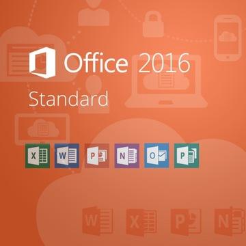 Microsoft Office 2016 Standard доставка товаров из Польши и Allegro на русском