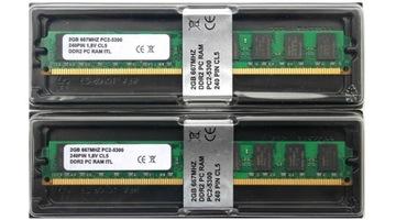 4GB 667MHZ DDR2 2x2GB ПАМЯТЬ RAM ДЛЯ КАЖДОЙ ПЛИТЫ доставка товаров из Польши и Allegro на русском