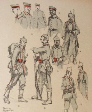 ___ umundurowanie wojskowe Niemcy 1914-1916 F04383 доставка товаров из Польши и Allegro на русском