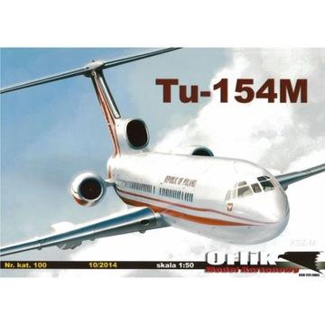 Орлик 100 пассажирский Самолет Туполев ту-154М 1:50 доставка товаров из Польши и Allegro на русском