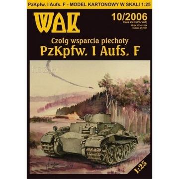 ОАК 10/06 Танк PzKpfw. И Ausf. F (Panzer I)1:25 доставка товаров из Польши и Allegro на русском