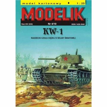 Штампик 4/10 - Советский тяжелый танк КВ-1 1:25 доставка товаров из Польши и Allegro на русском
