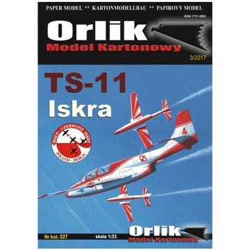 Орлик 027 учебный Самолет TS-11 Искра 1:33 доставка товаров из Польши и Allegro на русском