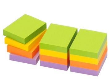 12x Karteczki samoprzylepne bloczek SPRING 50x40