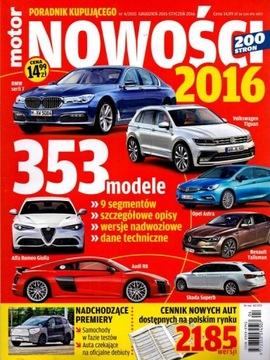 Motor Руководство Покупателя - Новинки 2016 № 4/2015 доставка товаров из Польши и Allegro на русском