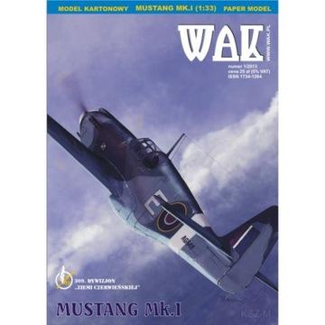ОАК 1/13 - истребитель Mustang Mk.И 1:33 доставка товаров из Польши и Allegro на русском
