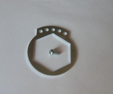 Sokół 1000 - zabezp. nakrętka zębatka zdawcza