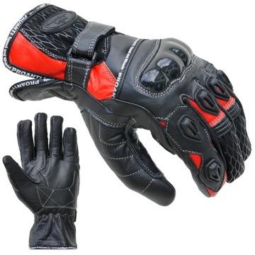 Rękawice motocyklowe skórzane PROANTI 1 kolory