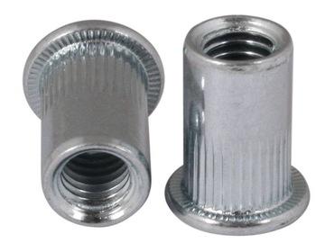 M8 Cylindrická nitónová skrutka Galvan 1-3,5 100ks