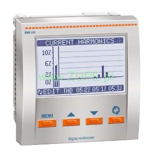 Analyzátor (meter) DMG 800L01 Sieťové parametre
