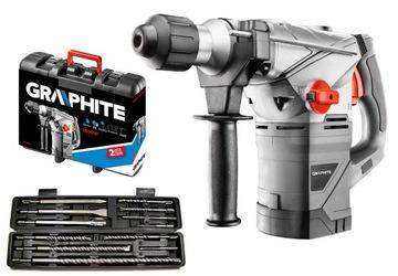 GRAPHITE 58G862 IMPACT KLADIVO SDS + 1500W + G40039