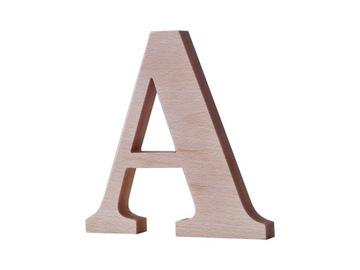 Drevené písmená, písmená vyrobené z dreva, nápis, 25 cm