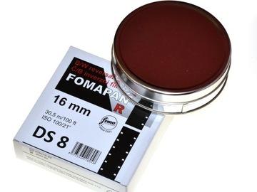 Fomapan R 100 DS8 16 mm Reverzibilné video pre fotoaparáty