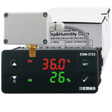 Klimatický regulátor teploty vlhkosti 4 režimy