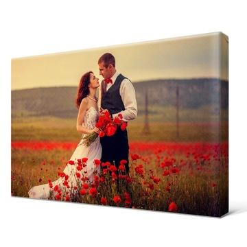 Photo-Canvas Vaše fotografie 40x30cm obrázky