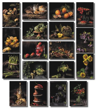 Caravaggio v kuchyni. Zobraziť. Sada 18 kusov