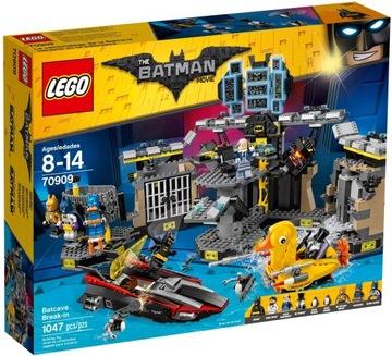 LEGO BATMAN 70909 Tehly BATMANOVEJ jaskyne PINGWIN