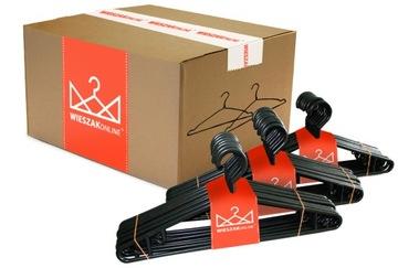 Oblečenie Hangers Oblečenie Čierne 100 ks
