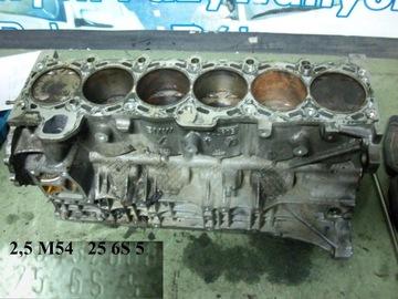 Блок двигателя bmw 2. 5i 256s5 e46 e39 e60 x3 z4, фото
