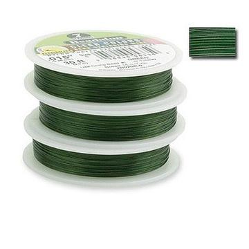 BeLi6- леска 5м для бижутерии зеленая 0,38мм