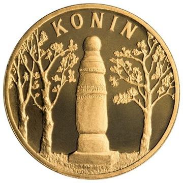 2 злотых монета Конин