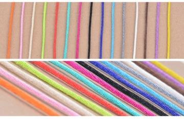 Нейлоновый шнур длиной 1 м, разные цвета