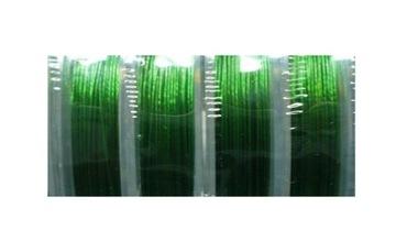 ВЕРЕВКА с покрытием LM007s стальная зеленая 0,38мм 1сп
