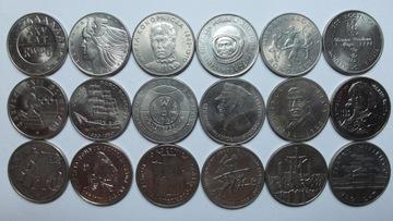 Набор из 18 памятных монет, состояние монетного двора 1-