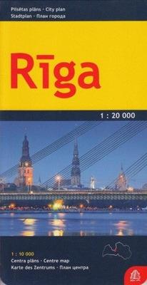Ryga mapa 1:20 000