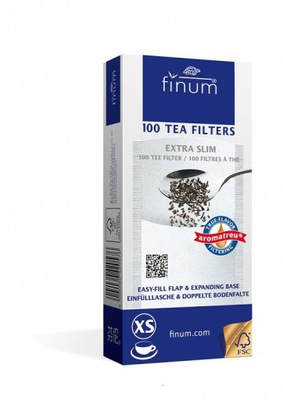 Фильтры Finum одноразовые для чая травы XS 100шт