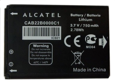ORG BATERIA ALCATEL CAB22B0000C1 OT-356 One Touch