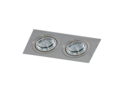 Bodové svetlá, bodové osvetlenie - Azzardo Oprawa Do Zabudowy Caro Ii aluminium