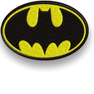 ПОЛОСА термо Бэтмен ВЫШИТУЮ нашивки