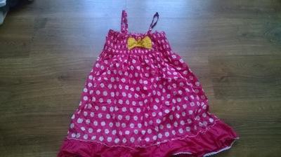 Sukienka 5/6 lat 116 cm