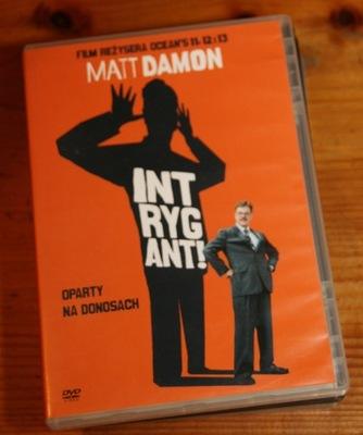 INTRYGANT !       DVD